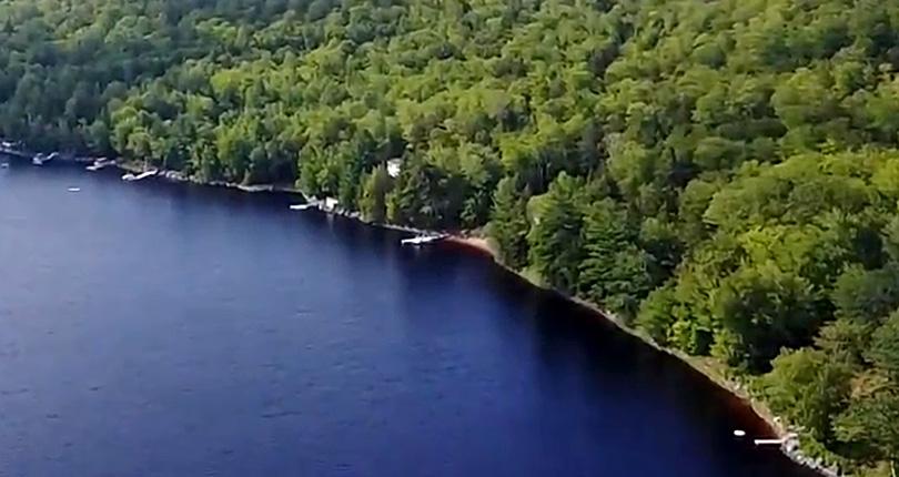 Sherbrooke Lake Video
