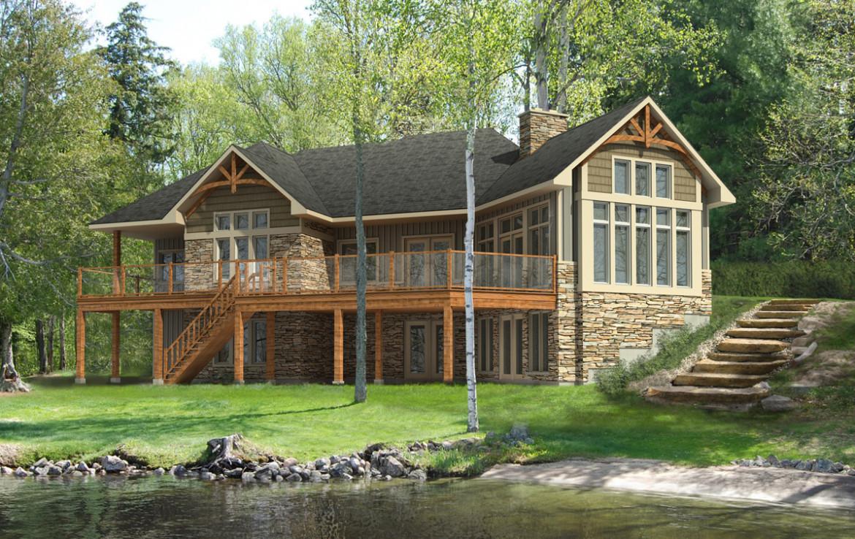 Glenbriar model home