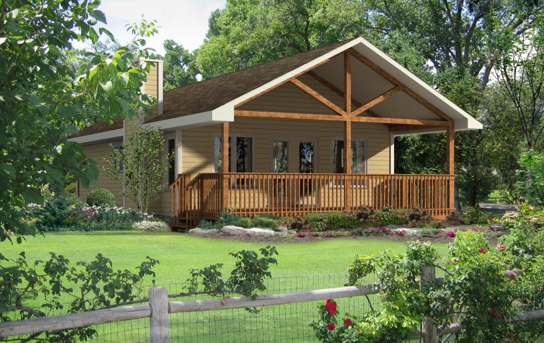 Baywood model cottage