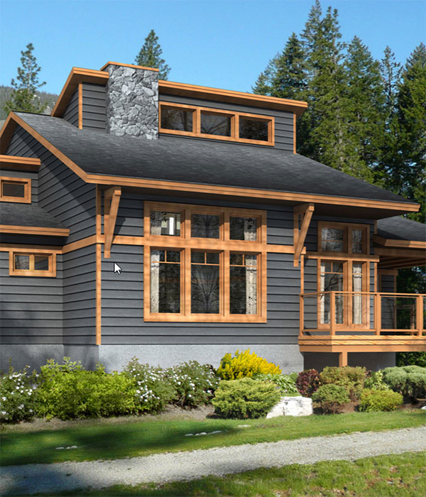 custom cottage design