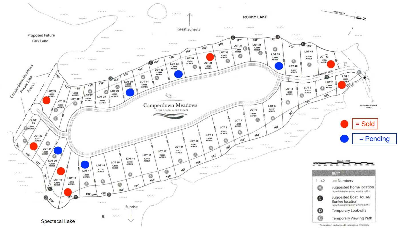 Camperdown Lot Plan