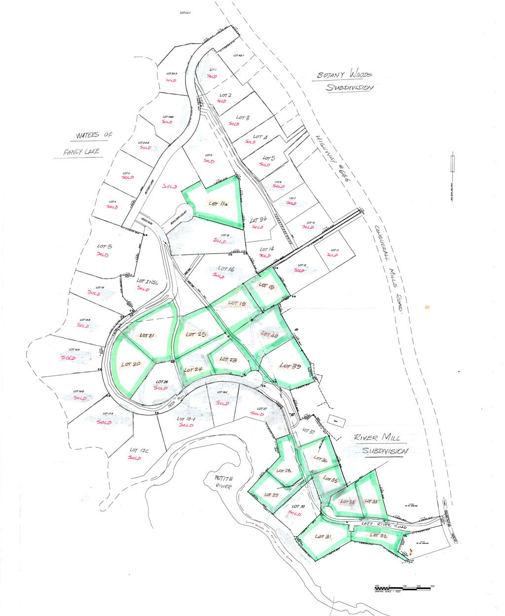 Botany Woods Site Plan